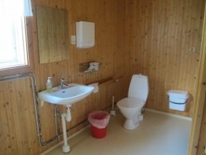 Toalett nere